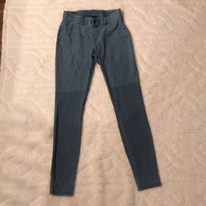 Two-Toned Blue Super Skinny Jeans